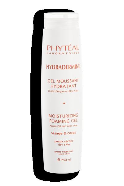 HYDRADERMINE gel moussant pour peau sèche