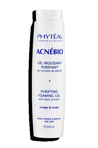 ACNÉBIO gel moussant pour peau grasse